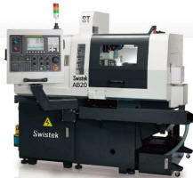 Swistek AB20 swiss type cnc lathe 20mm 7-axis